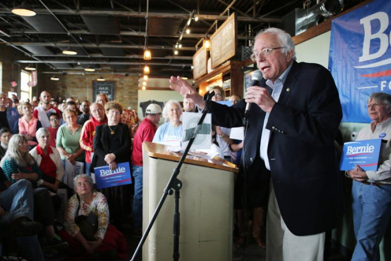 Bernie Sanders Gains Momentum In Iowa