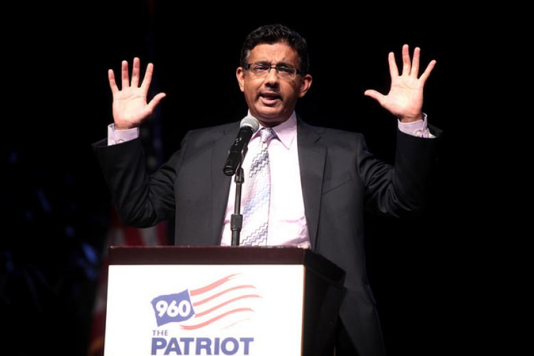 Dinesh D'Souza Wants A Little Summer Break From His Jail Sentence