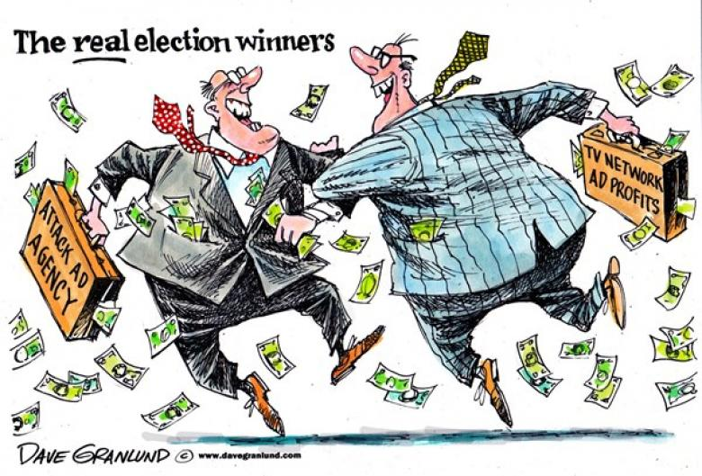 Media Executives Salivate Over Big Billionaire Election Bucks