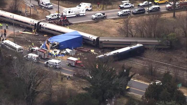 Report: Derailed Train Sped Toward Curve At 100 MPH