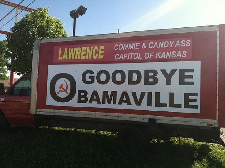 Business Owner Bids Adios To 'Obamaville, Commie And Candy Ass Capitol Of Kansas'