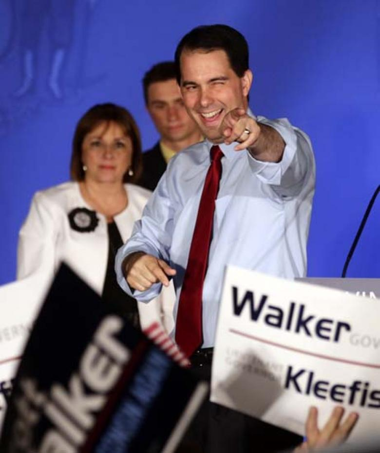 WI Republicans Throw Walker's Campaign A (Pro-)Life Preserver