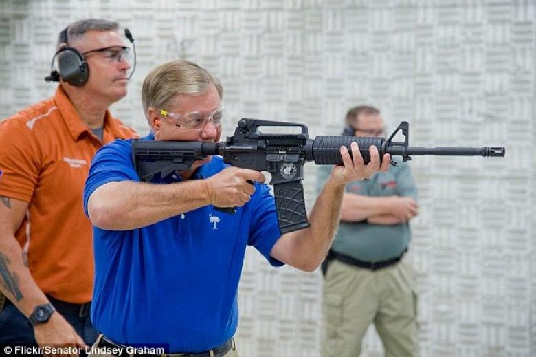 Lindsey Graham To Gun Skeptic: Wanna Check Out My AR-15?