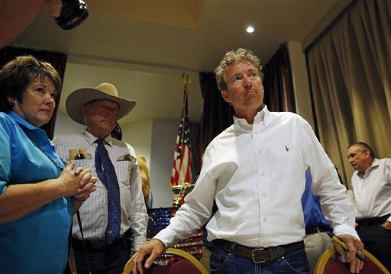 Rand Paul Takes A Meeting -- With Cliven Bundy - UPDATED