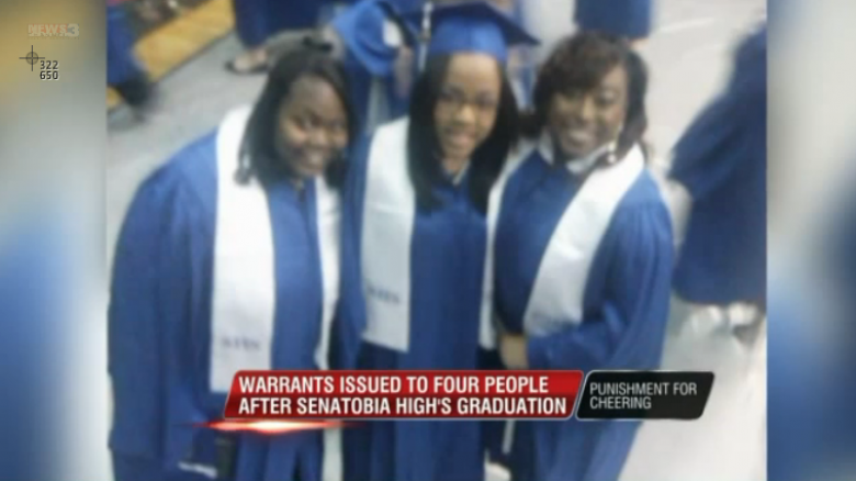 Cheering While Black: Mississippi School Chief Says It's A Crime