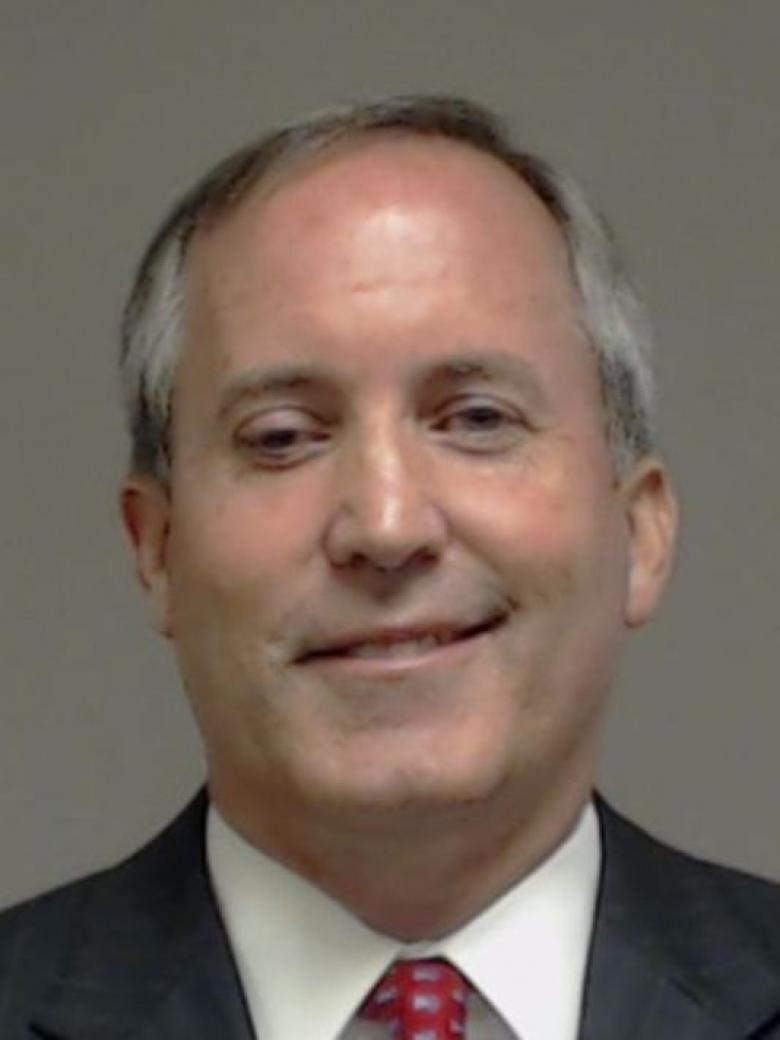 Mugshot! Texas Attorney General Surrenders After Indictment