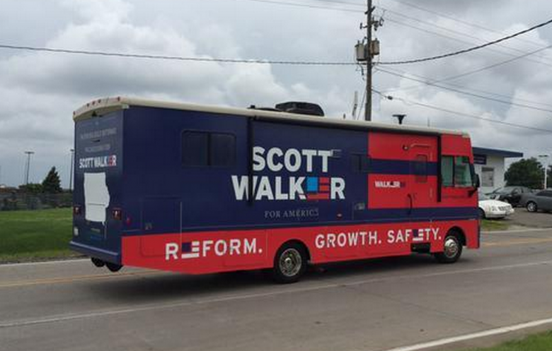 Walker Panics As Poll Numbers Sink At Home, Nationally