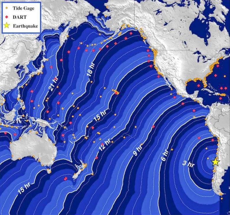8.3 Magnitude Earthquake Off Chile's Coast (Updated)