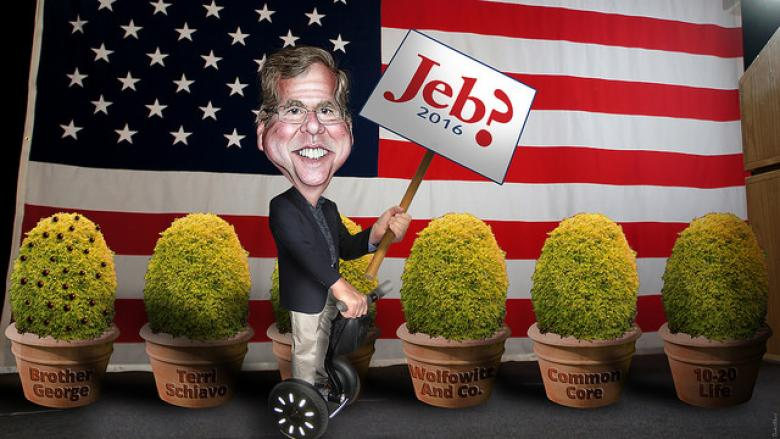 Where Jeb! Tweets The Stupidest Right-Wing Tweet Of Them All