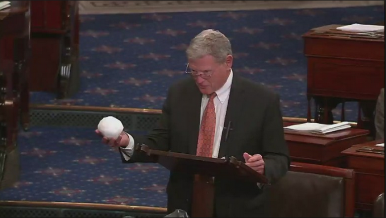 Inhofe Responds To Pope's Call To Protect 'Our Common Home'