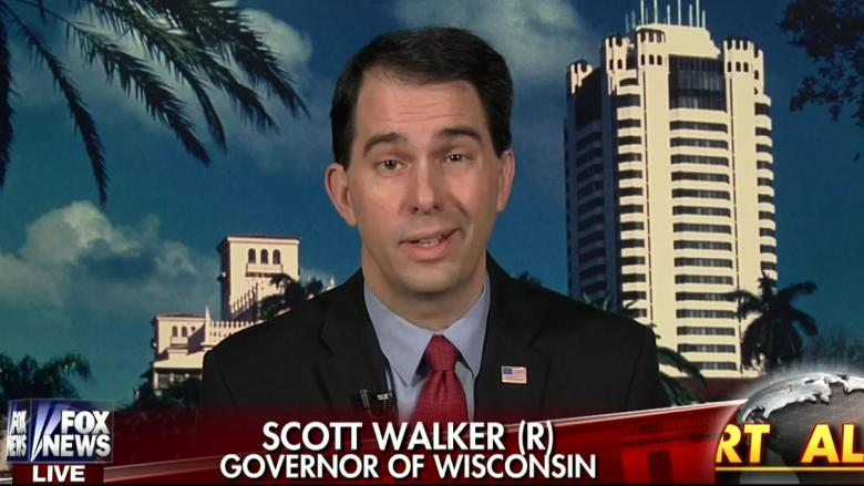 Walker Cancels Appearance At California Event