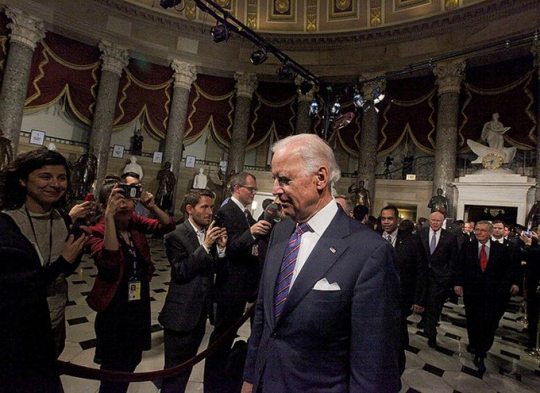 Can Biden Run For President With TPP Around His Neck?
