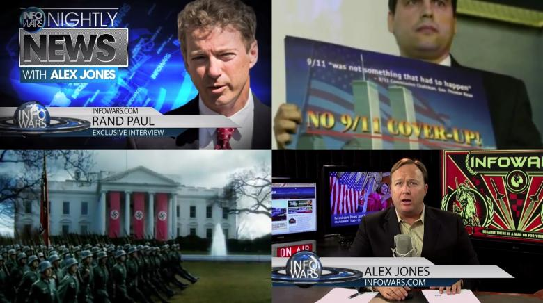 Alex Jones Endorses Rand Paul Like It's A Good Thing