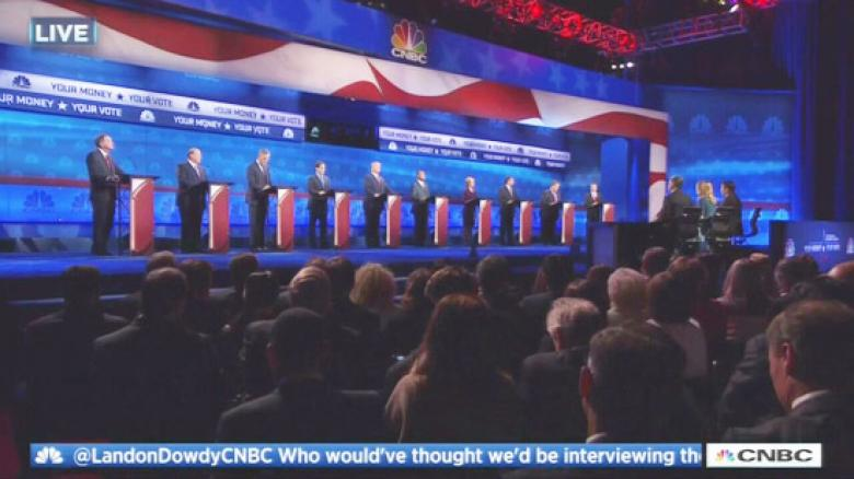 CNBC Debate: It Pays To Bash The Media