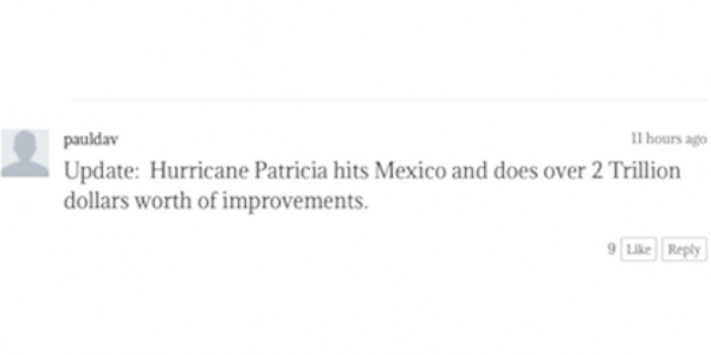 While Fox Condemns #BlackLivesMatter Rhetoric, It Condones This Disgusting Talk About Hurricane Patricia On Fox Nation
