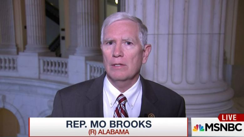 Rep. Mo Brooks Finds A New Angle On Syrian Refugees