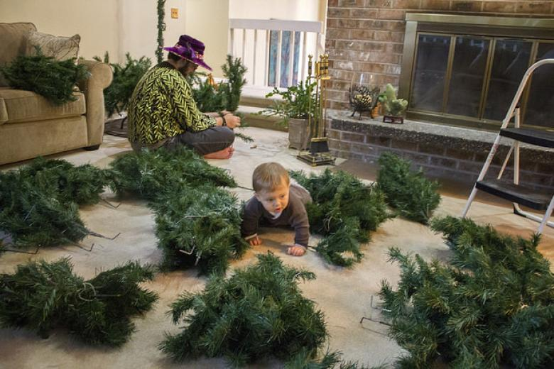 The War Of The Christmas Trees