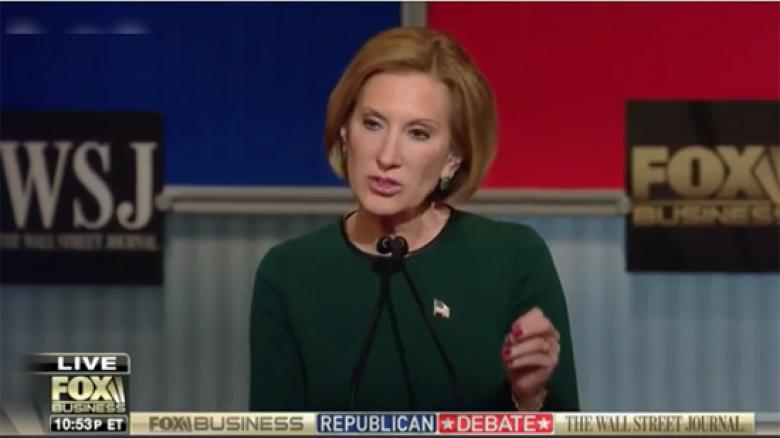 Carly Fiorina Bags On Ted Cruz' Canadian Citizenship