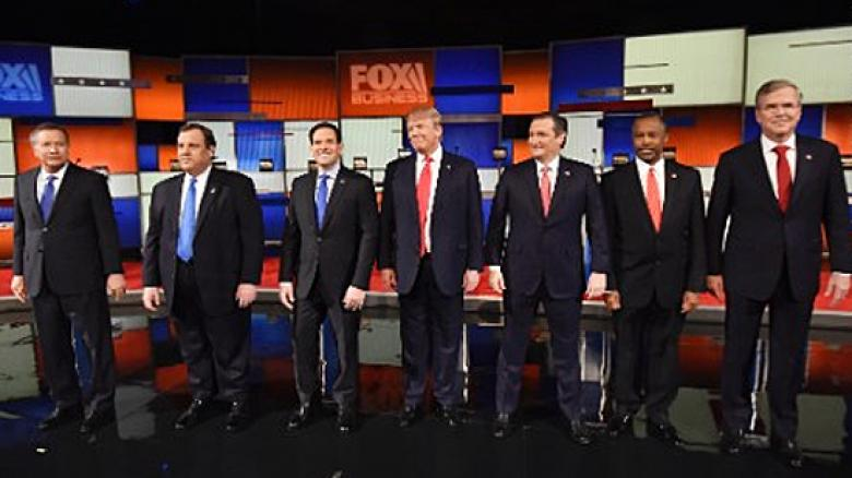 Fox Business GOP Presidential Debate Turns Into Cage Fight