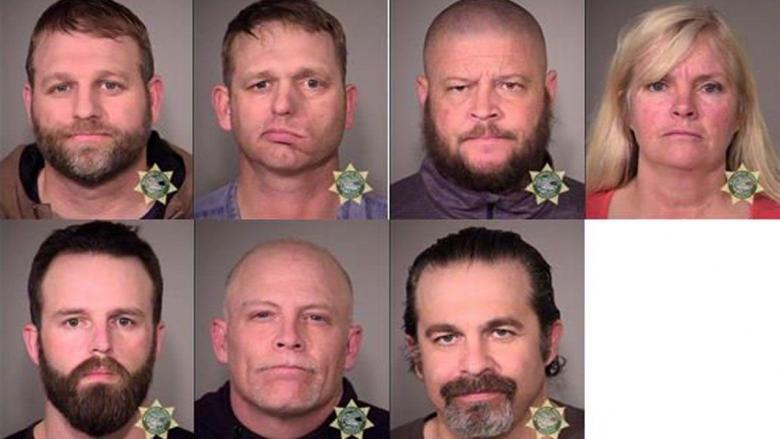 We Got Mugshots!  (Update 2:  Ammon Bundy Says Go Home)