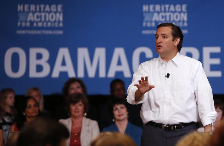 Cruz:  No 'Personal Responsibility' For His Own Insurance