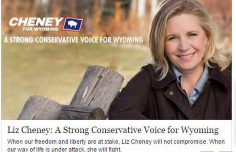 Carpetbagger Liz Cheney Is Outed On Facebook By Her Own Location