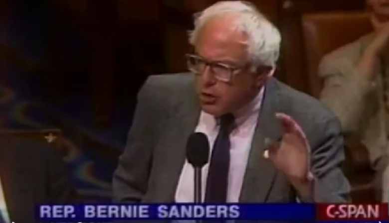 Video: Bernie Sanders Shreds Congressman Over 'Homos In The Military' Reference