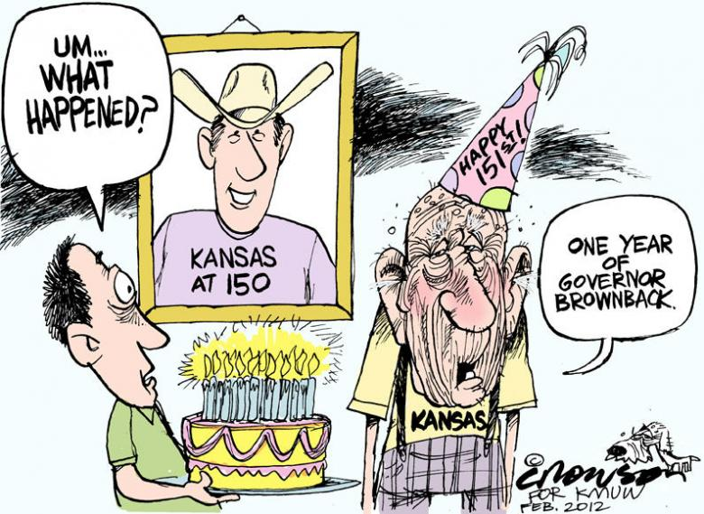 Why Doesn't The Press Ask Republicans About Kansas?