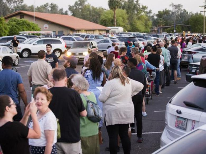 Maricopa County Cuts Number Of Polling Places From 200 To 60, Chaos Ensues