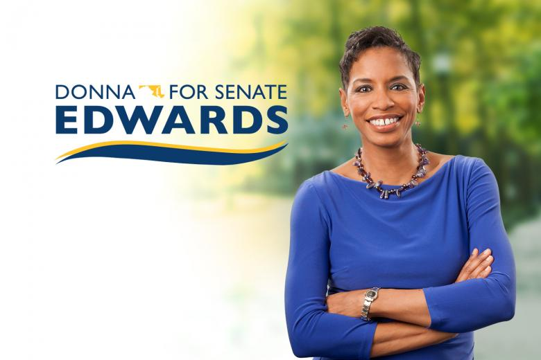 Wall St. Hopes You Won't Give To Donna Edwards' Money Bomb