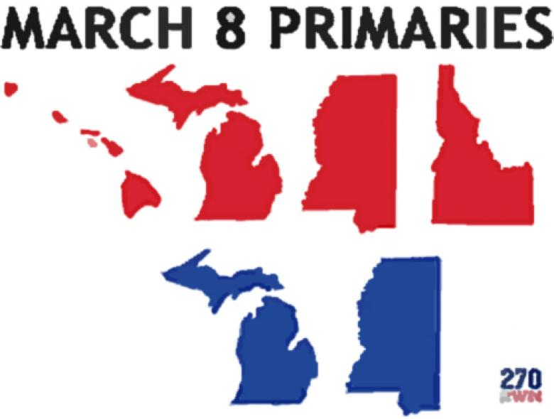 Michigan And Others Primary Results Open Thread (Update 1, 2, 3, 4, 5)