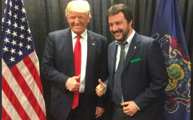 Donald Trump's New Pal From Italy Sure Loves Mussolini