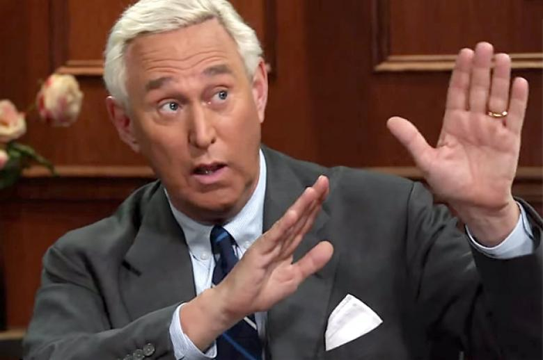 Roger Stone's 'Rigged Election' Conspiracies Get Space At 'The Hill'