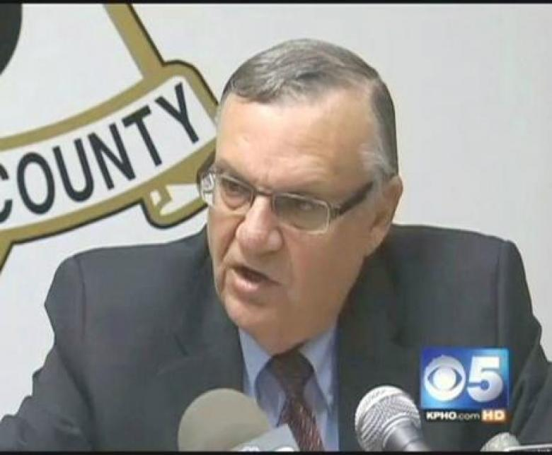 Sheriff Joe Arpaio Found In Contempt Of Court By Federal Judge
