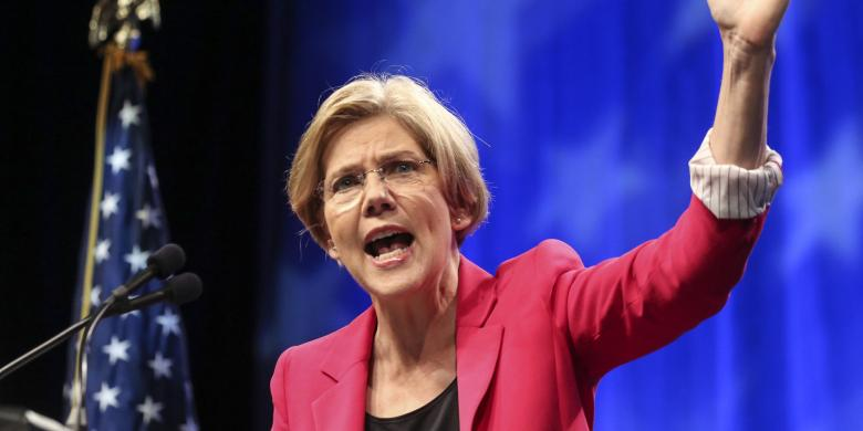 Elizabeth Warren Spanks Trump After He Recycles Scott Brown's Racist Attack