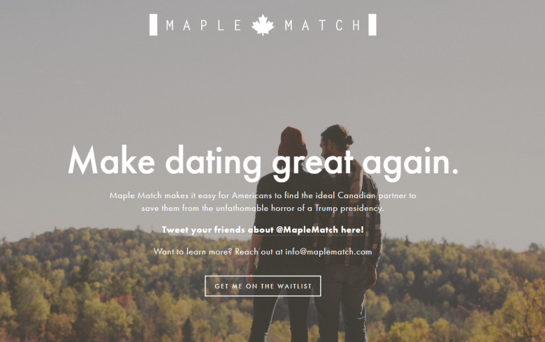 Want To Flee America If Trump Gets Elected? A Dating Site Has You Covered