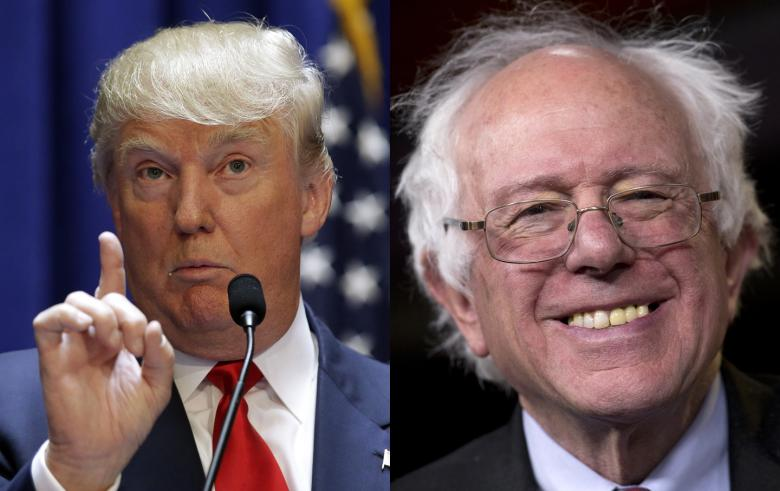 Trump Woos Sanders Voters With 'Crazy Bernie' Nickname