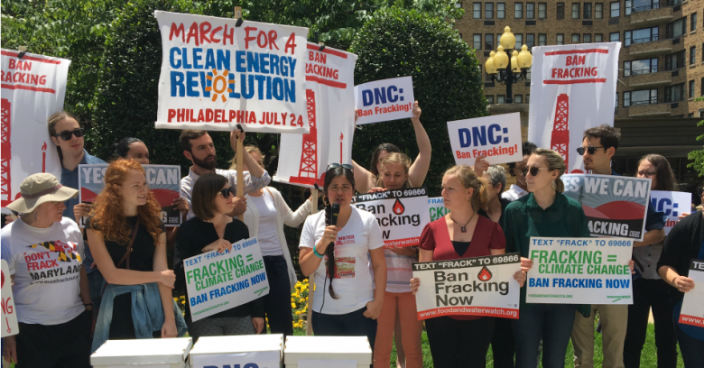 Will DNC Party Platform Include Sanders' Ban On Fracking?
