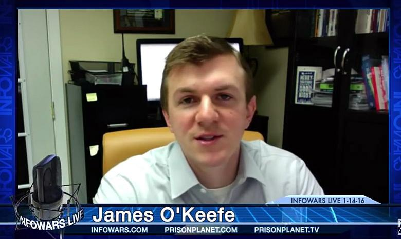 James O'Keefe Tells Me He's 'Nelson Mandela' On Twitter