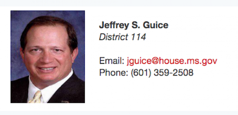 MS State Rep Calls Constituent A Moocher In Response To Appeal For Help