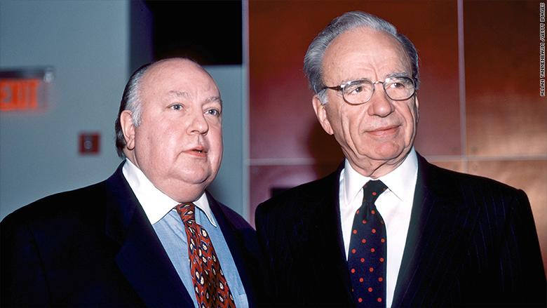 Murdoch Replacing Ailes At Fox Lets Him Hide, Settle And Seal Lawsuits