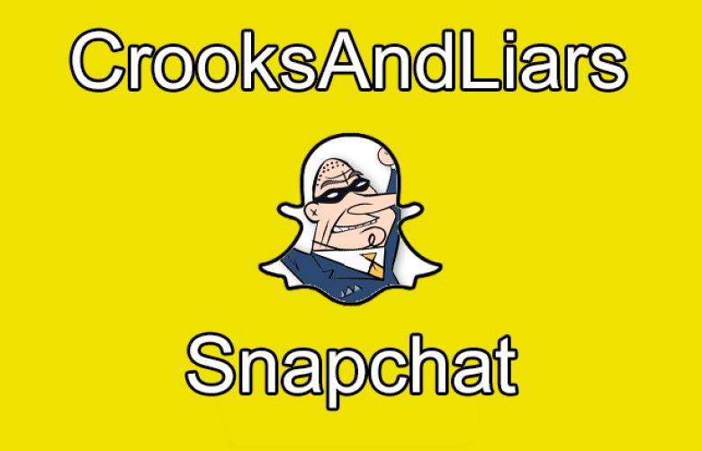 Join Crooks And Liars On Snapchat For DNC Live Photos!