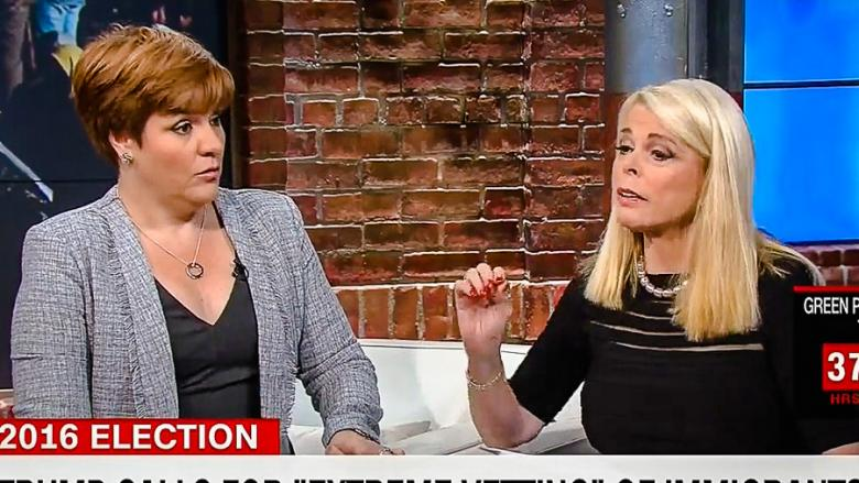 Betsy 'Death Panels' McCaughey Floats Muslim Internment Camps On CNN