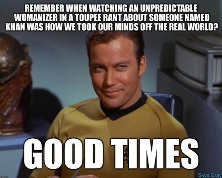 Open Thread - Star Trek TOS, FTW. | Crooks and Liars