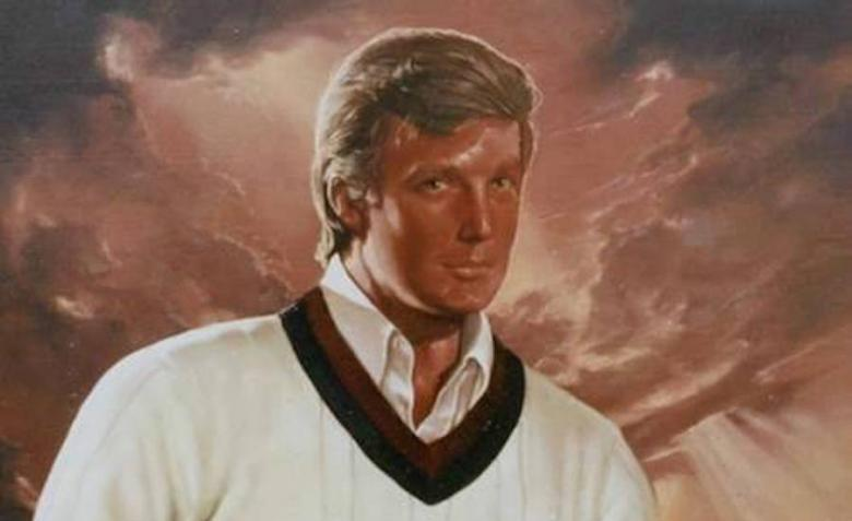 Trump Once Spent $20,000 Earmarked For Charity On A Painting Of Himself