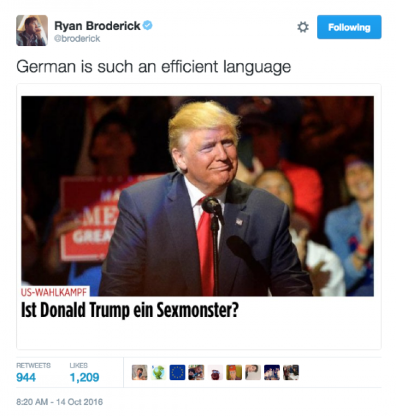 Open Thread - The Original German?