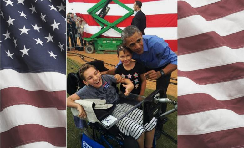 Disabled Child Kicked Out By Trump Is Welcomed By Obama