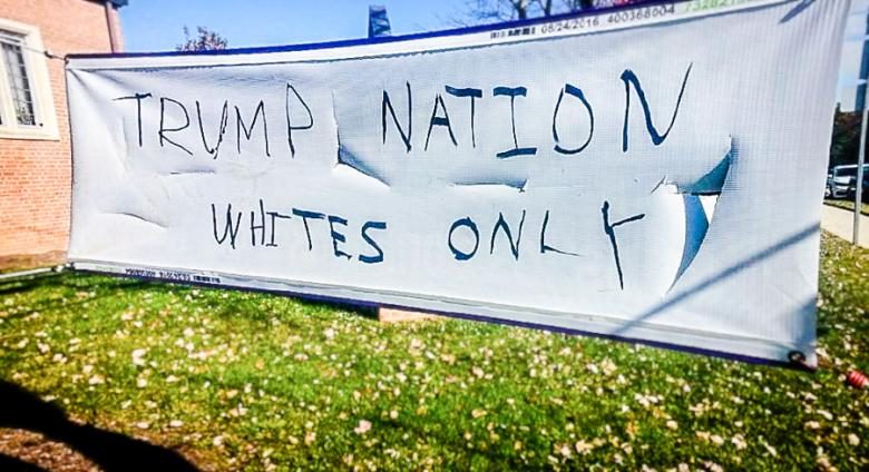 'Trump Nation Whites Only': Maryland Church Hit With Racist Graffiti During Hispanic Outreach