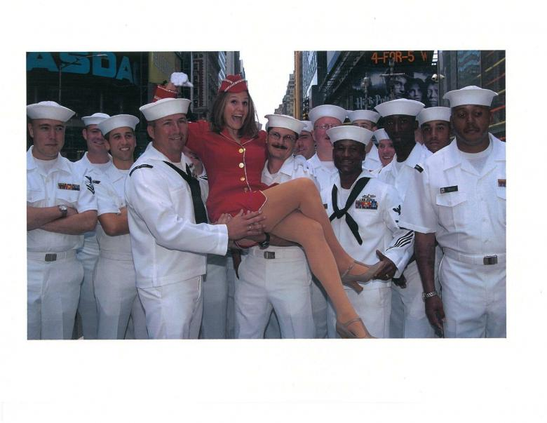 The Chorus Girl And Her Proud Troops Of Wounded Vets