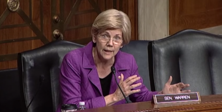 Elizabeth Warren Roars Over Possible CFPB Dissolution, Steve Bannon's Appointment